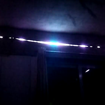 LED synced with music