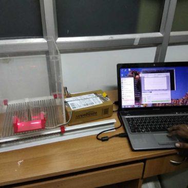 Rat limb movement detector